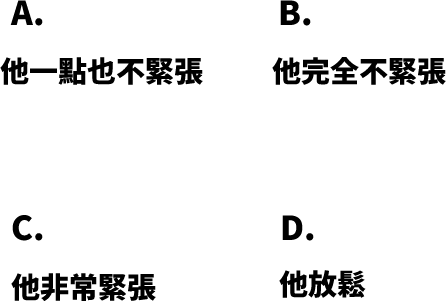 華語文能力測検進階級Level3聴解練習11