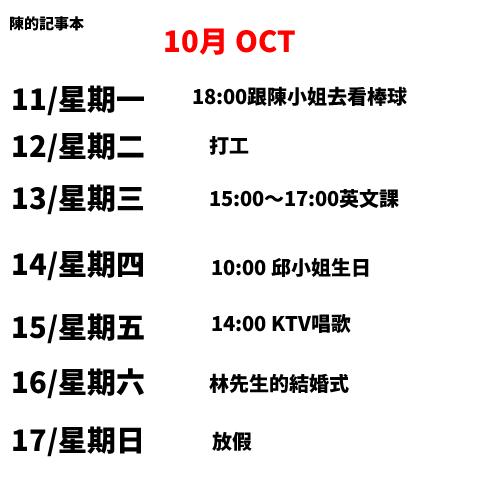 【試験】華語文能力測検進階級Level3読解練習3